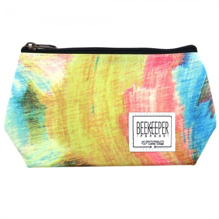 Beekeeper Parade Makeup Bag Small - The Evening Dusk