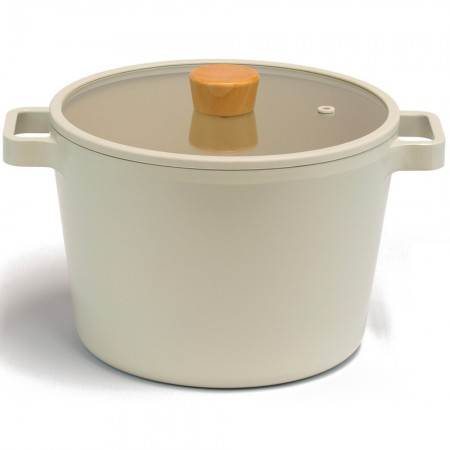 NeoFlam Fika Deep Casserole & Stockpot 22cm (with Steamer)
