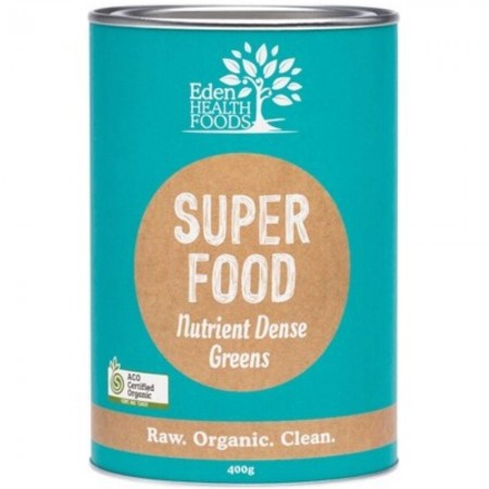 Eden Healthfoods Superfood Certified Organic Greens Powder 400g