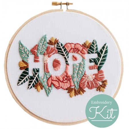 Brynn & Co. Hope Embroidery Kit