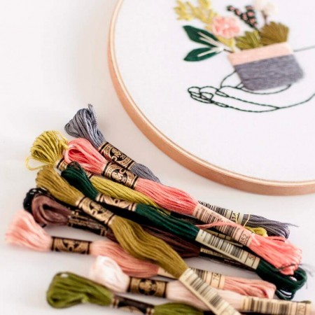 Brynn & Co. In Your Hands Embroidery Kit