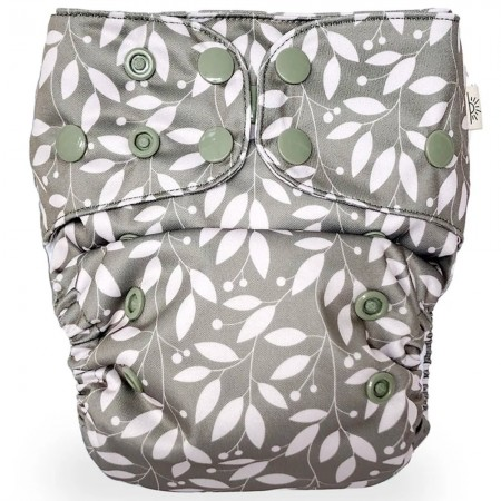 EcoNaps Modern Cloth Nappy - Sage