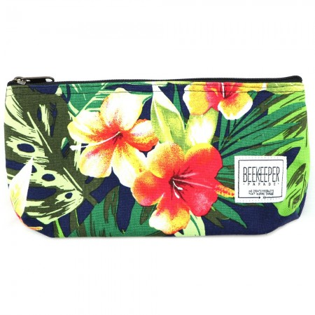 Beekeeper Parade Pencil Case - Hibiscus