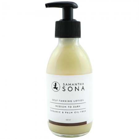 Samantha Sona Self Tan Lotion 200ml - Medium to Dark