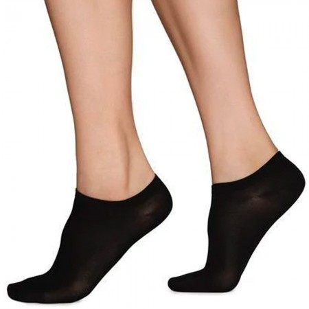 Swedish Stockings Sara Premium Sneaker Socks - Black