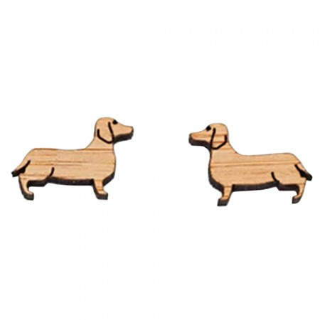 One Happy Leaf Sausage Dog Studs
