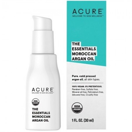 ACURE Moroccan Argan Oil Certified Organic 30ml