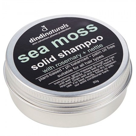 Dindi Naturals Solid Shampoo in Tin 50g - Sea Moss