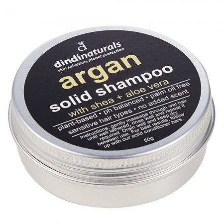 Dindi Naturals Solid Shampoo in Tin 50g - Argan