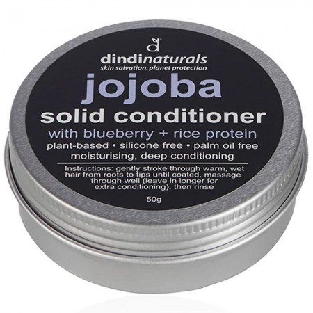 Dindi Naturals Solid Conditioner in Tin 50g - Jojoba