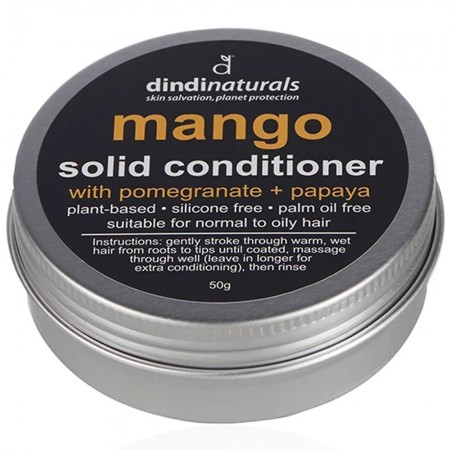 Dindi Naturals Solid Conditioner in Tin 50g - Mango