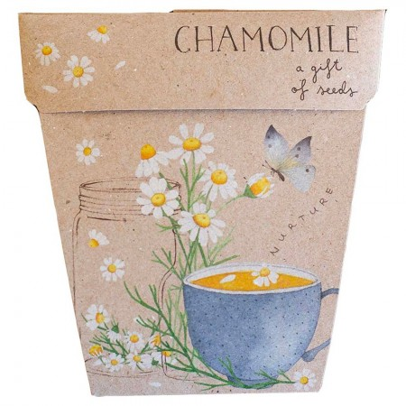Sow 'n Sow Gift of Seeds Greeting Card - Chamomile