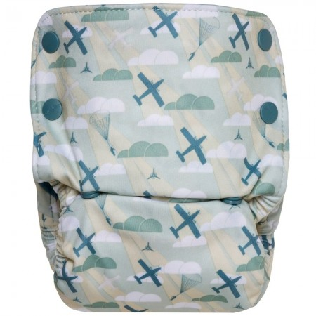 GroVia Organic All In One Nappy - Maverick
