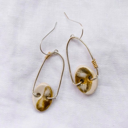 Ochre Bloom Earrings