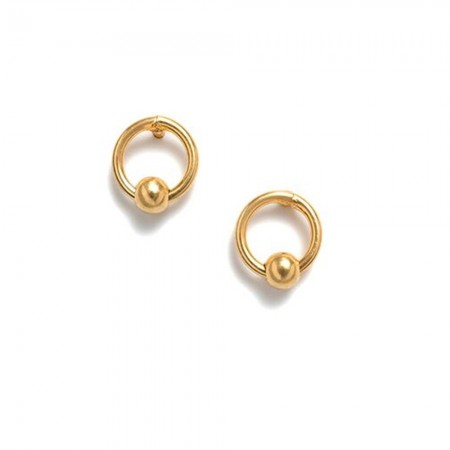 RBCCA KSTR Mini Bead Studs - Gold