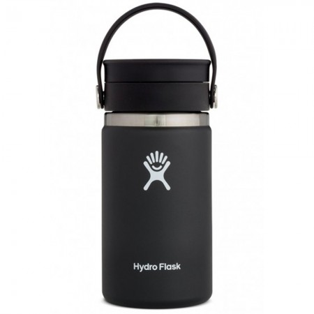 Hydro Flask Wide Mouth Coffee Flask 354ml - Black