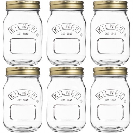 Kilner 500ml Preserve Jars Set of 6