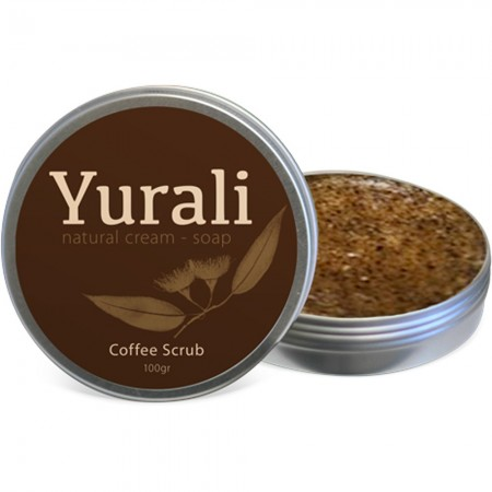 Yurali Coffee Scrub in Tin