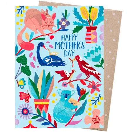 Earth Greetings Mother's Day Card - Mother Nature