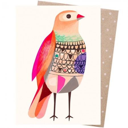 Earth Greetings Card - Beautiful Firetail
