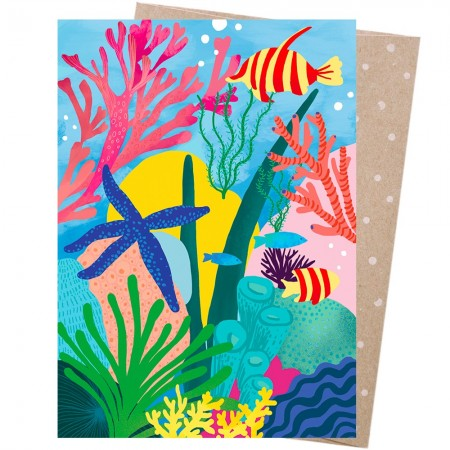 Earth Greetings Card - Great Barrier Reef