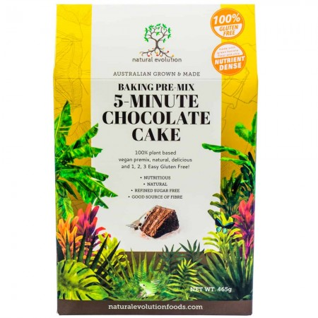 Natural Evolution 5-Minute Chocolate Cake Mix - 465g