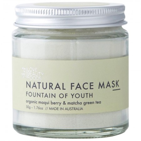 Love Beauty Foods Clay Face Mask 50g - Fountain of Youth