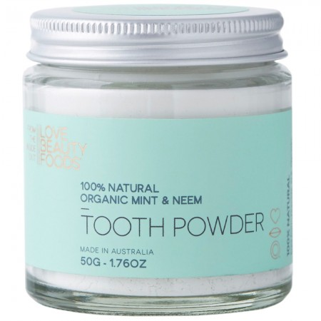 Love Beauty Foods Tooth Powder 50g - Mint & Neem