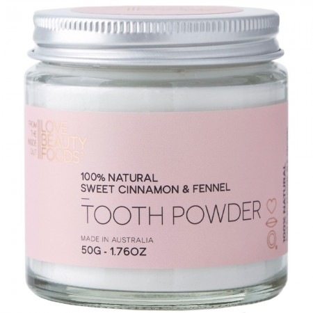 Love Beauty Foods Tooth Powder 50g - Sweet Cinnamon & Fennel