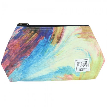 Beekeeper Parade Makeup Bag Large - The Evening Dusk
