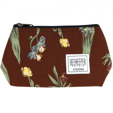 Beekeeper Parade Makeup Bag Small - Tulip & Orchid