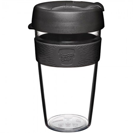 KeepCup Large Clear Plastic Coffee Cup 16oz (454ml) - Origin