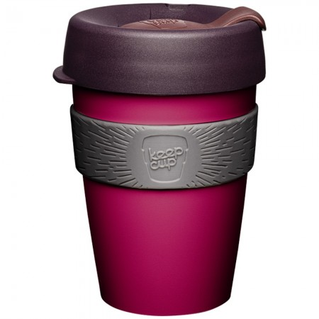 KeepCup Original Medium Plastic Cup 12oz (340ml) - Mulberry