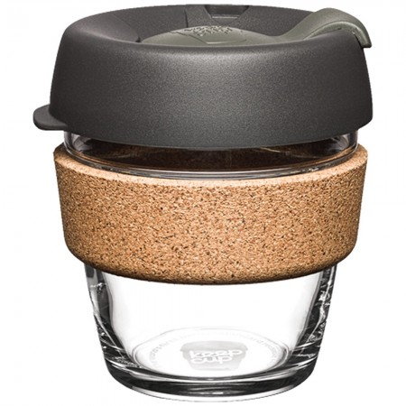 KeepCup XS Glass Cup Cork Band 6oz (177ml) - Nitro