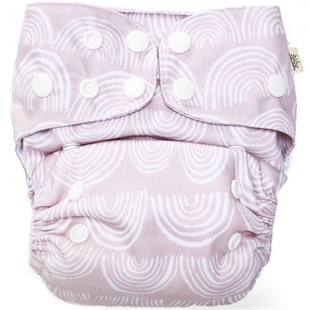 EcoNaps Modern Cloth Nappy - Rainbow Dreaming