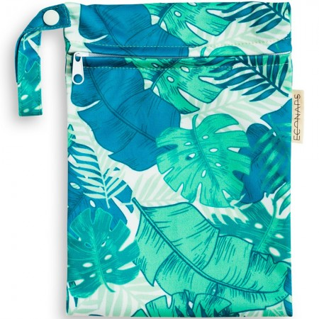 EcoNaps Mini Wet Bag - Tropical Palms