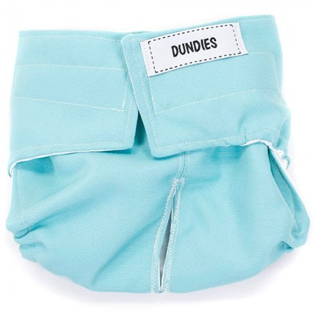 Dundies All in One Pet Nappy - Soft Blue