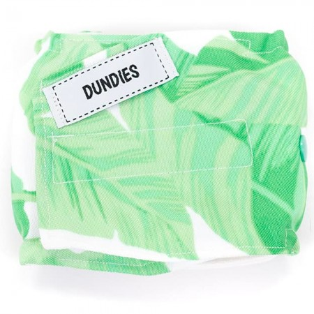 Dundies Male Pet Nappy Belly Band - Tropical