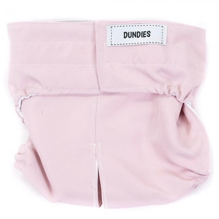 Dundies Snappies Pet Nappy - Dusty Pink