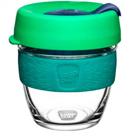 KeepCup Small Glass Cup 8oz (227ml) - Floret