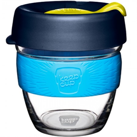KeepCup Small Glass Cup 8oz (227ml) - Blueleaf