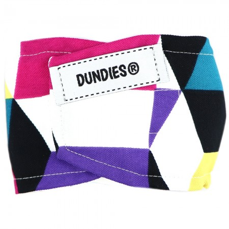 Dundies Male Pet Nappy Belly Band - Geo