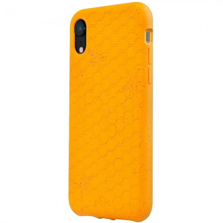Pela Eco-Friendly iPhone 11 XR Case - Honey Bee Edition