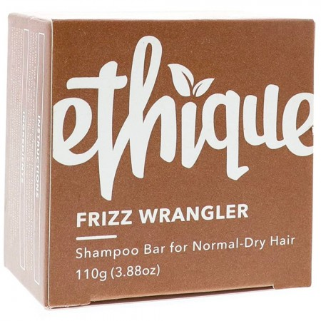 ETHIQUE Solid Shampoo Bar for Dry or Frizzy Hair 110g - Frizz Wrangler