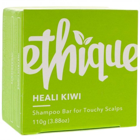 ETHIQUE Solid Shampoo Bar for Touchy Scalps 110g - Heali Kiwi