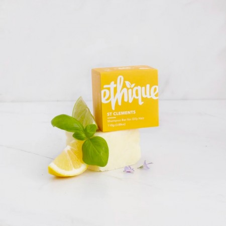 ETHIQUE Solid Shampoo Bar for Oily Hair 110g - St Clements