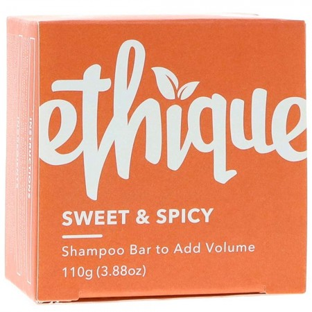 ETHIQUE Solid Shampoo Bar to Add Oomph 110g - Sweet & Spicy