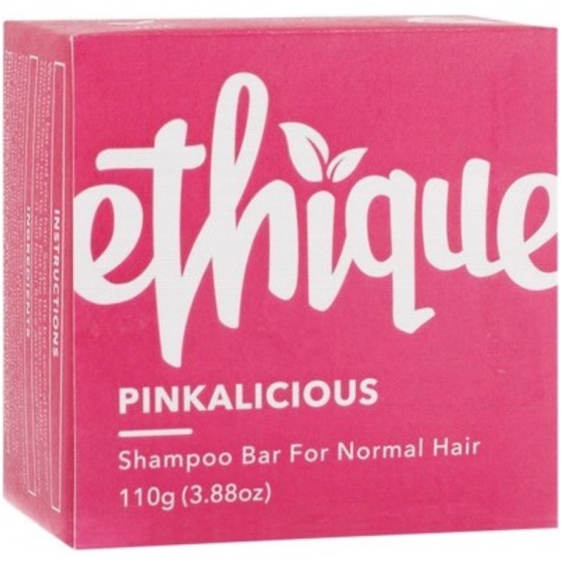 ETHIQUE Solid Shampoo Bar Pinkalicious 110g - Normal Hair