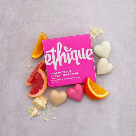 ETHIQUE Trial Pack For Normal Skin & Hair 60g