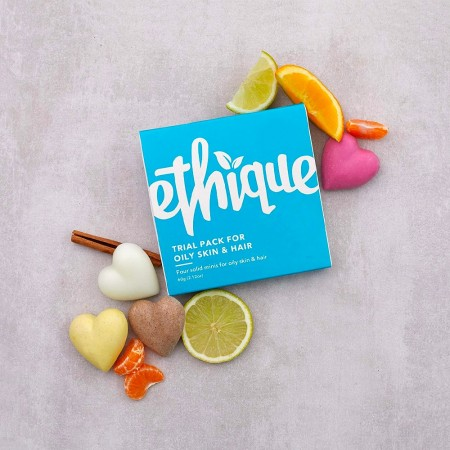 ETHIQUE Trial Pack For Oily Skin & Hair 60g